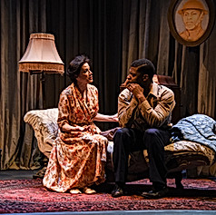 THE GLASS MENAGERIE - Amanda and Tom