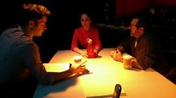 Rehearsal for A CLASS ACT - NY Matthew DeCapua, Jenny Strassberg & Christopher Scott.JPG