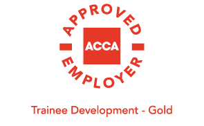 ACCA Approved Employer Award - Trainee Developement Gold