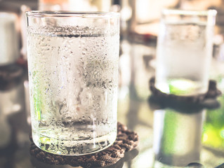 A glass of water can help tackle morning breath