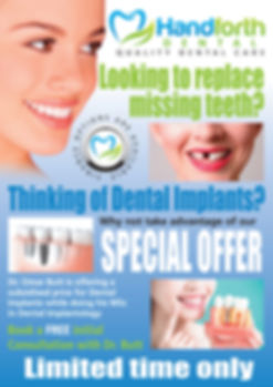 Teeth whitening services in Handforth, check us out for Special Offers