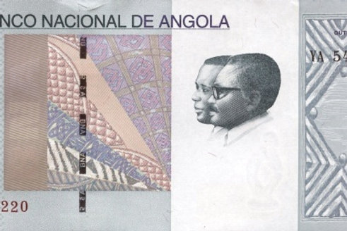 Angola 5 Kwanza Paper Banknote (UNC)