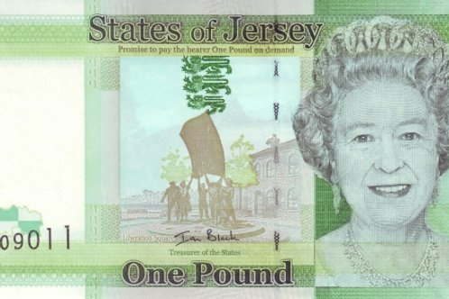 States of Jersey 1 Pound UNC Paper Banknote