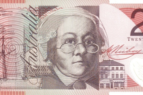 Australia 20 Dollars Polymer Banknote (AUNC)
