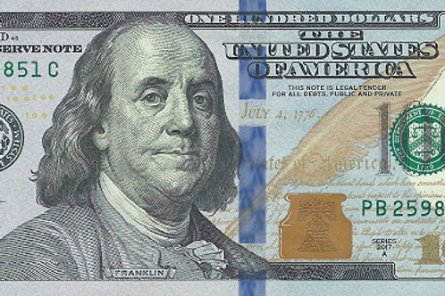 United States of America 100 Dollars Paper Banknote (UNC)