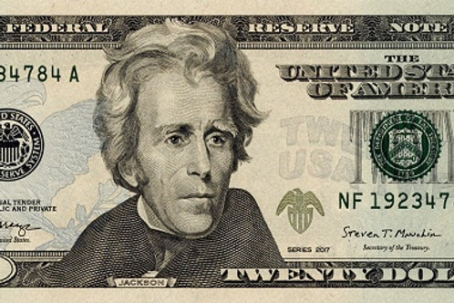 United States of America 20 Dollars (AUNC)