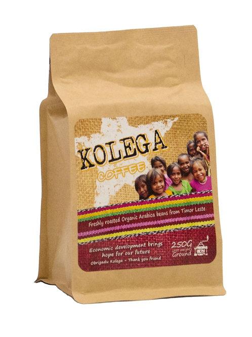 250g Ground Premium Organic KOLEGA Coffee