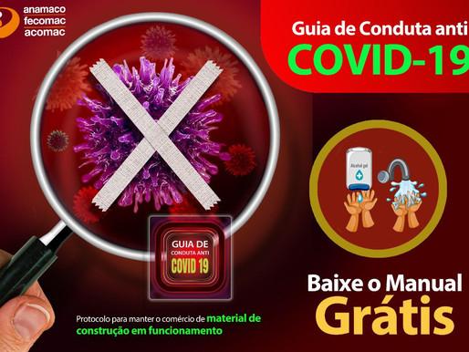 Anamaco apresenta mais um guia prático de combate e prevenção à Covid-19 (coronavírus)