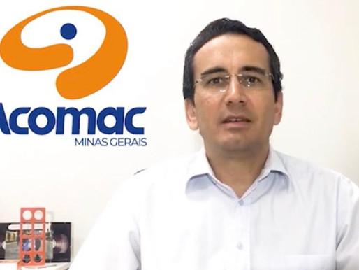 Acomac-MG em prol do cumprimento da lei que considera o setor de varejo de matcon como essencial