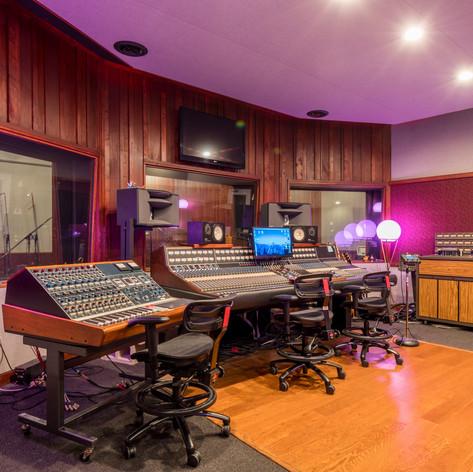 Studio I Control Room Consoles