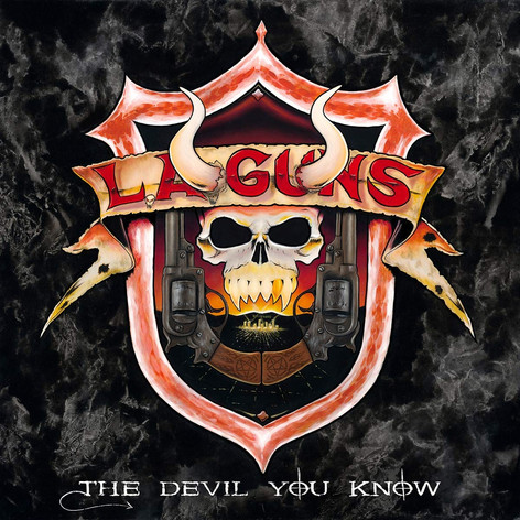 LA GUNS - THE DEVIL YOU KNOW
