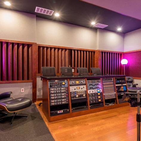 Studio I Control Room Gear