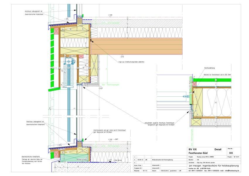JENOHR | MEZGER Holzbauplanung und Sanierung | Detail Holzbau