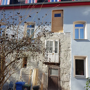 Hoffassade erster Bauabschnitt