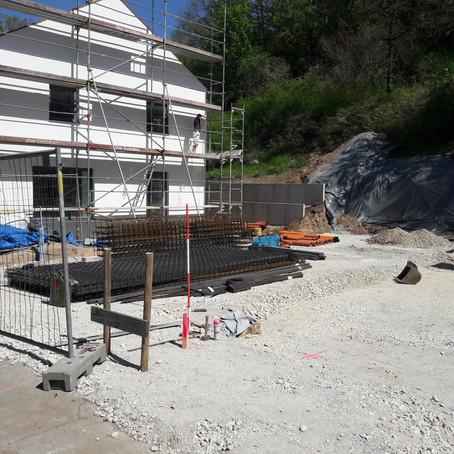 Baustelle in Roßtal - Nr. 1