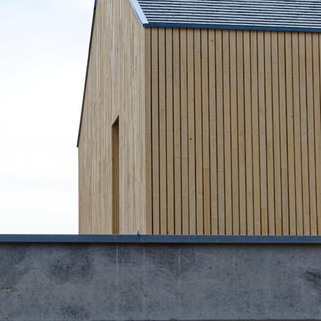 Das Holzhaus in Heideck ist fertig