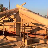 Traditionelle Stabwerkkonstruktion