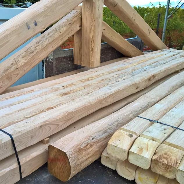 Bauholz, nachhaltig aus der Region