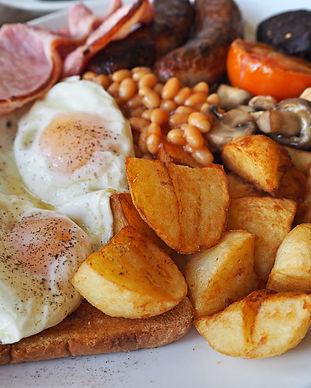 Sally Pussey Breakfast Menu