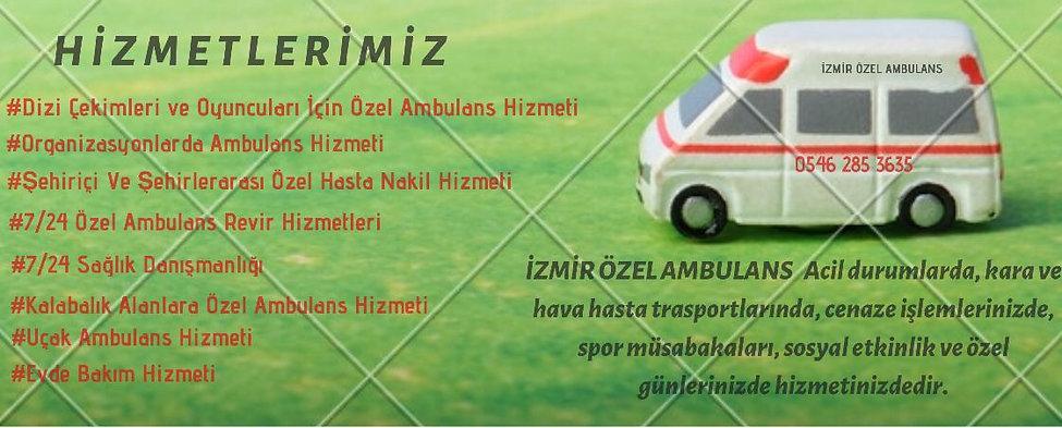 İZMİR ÖZEL AMBULANS