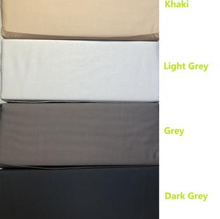 SHEET SET - Organic Dark Grey