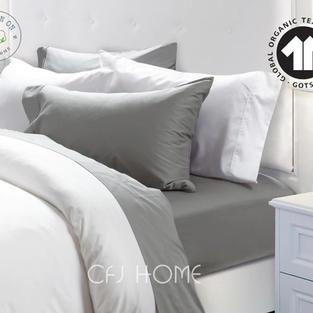 SHEET SET - Organic Middle Grey