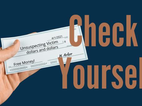 How to identify fraudulent checks