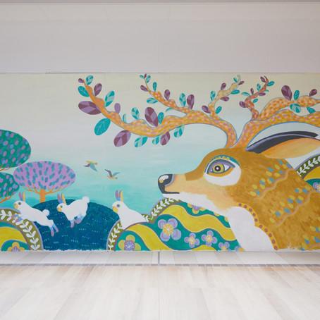 "fence&art in HIKARIGAOKA IMA     ""WITH ART"""