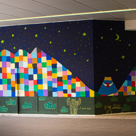 "fence&art in Tama-Centr     ""friendship city アートでつながる想い"""