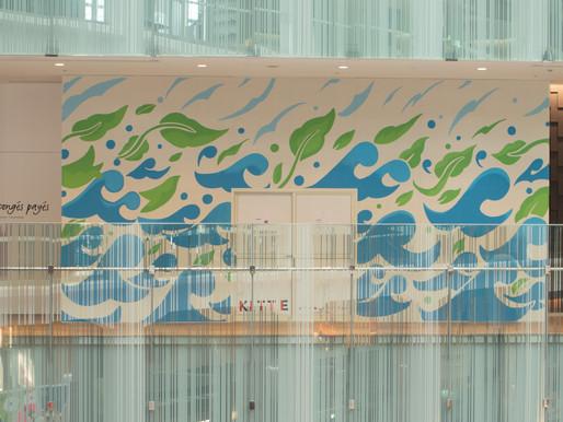 """fence&art in KITTE """"omnibus letter"""""""