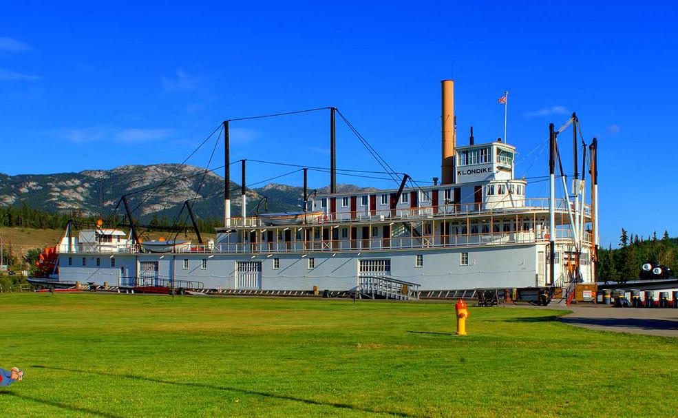 Raddampfer SS Klondike
