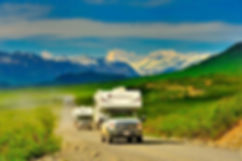 SK-Gruppe auf em Denali Highway