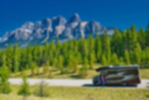 Melbourne Motorhome im Bow Valley