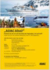 Flyer ADAC/ Hapag-Lloyd