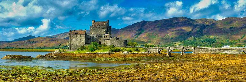 Panorama Eileen Donan Castle