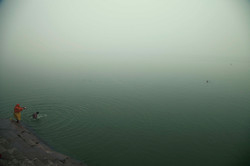 Hindu devotees and pilgrims believe that Ganga can wash away their sins