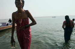 For thousands of years people have come to worship and offer their prayer to the Mother Ganga, an In