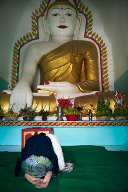 Inside Myanmar Monastery(Mandalay