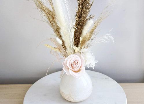 White Blush Vase