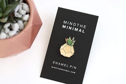 Mind the Minimal : Enamel Pin