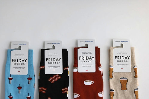 Friday Sock Co : Mismatched Men's Socks