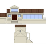 Layout: Modern Home Exterior