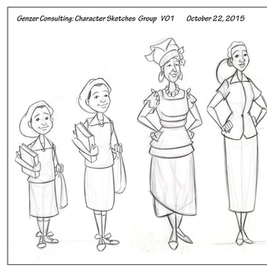 Genzer: Character Model
