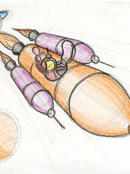 Sketch with Kids: Rocket
