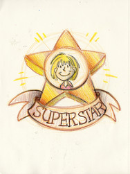 Sketch with Kids: Superstar