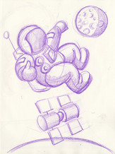 Sketch with Kids: Space