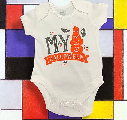 1st Halloween Baby Body Suit