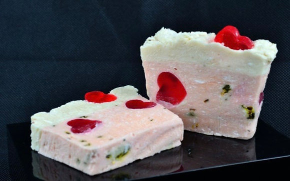 Handmade English Rose soap