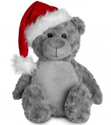 Christmas Hat Personalised Teddy Bear