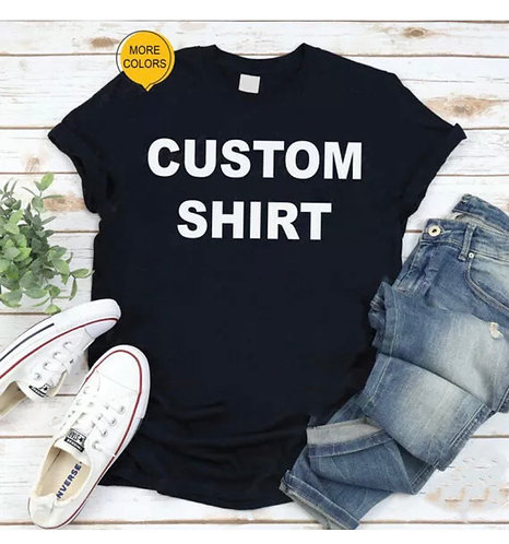 High Quality Custom T-Shirt Printing